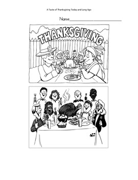 A Taste of Thanksgiving Today and Long Ago