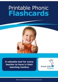 A Teacher's Toolkit of Printable Phonic Flashcards
