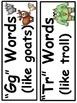 A+ The Three Billy Goats Gruff: Sound Sort