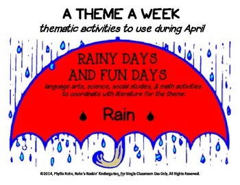 A Theme A Week: Rain