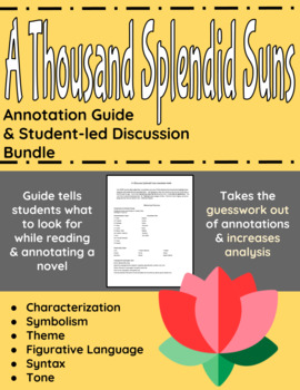 A Thousand Splendid Suns Annotation Guide and Student-led