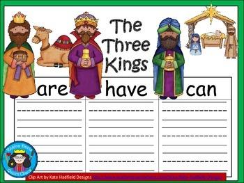 A+  Three Kings or Three Wisemen ... Three Graphic Organizers