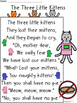 A+ Three Little Kittens Comprehension For Guided Reading