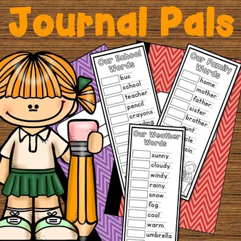 Vocabulary Activity for First and Second Grade