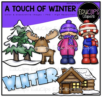 A Touch Of Winter Clip Art Bundle