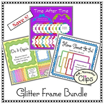 A Touch of Glitter Frame Bundle