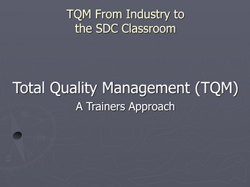 A Trainers approach to the SDC Classroom Powerpoint