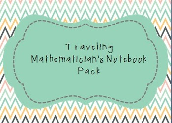A Traveling Mathematician's Notebook--making meaningful co