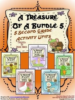 Treasures ~ A Treasure Of A Bundle #5 : Five Activity Book