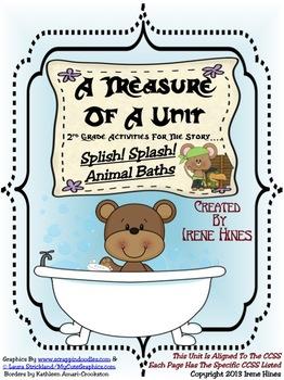 Treasures ~ A Treasure Of A Unit For 2nd Grade: Splish! Sp