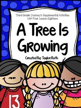 Third Grade Journey's Supplemental Activities: A Tree is G