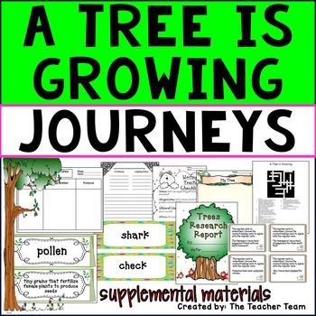 A Tree is Growing Journeys Third Grade ~ Supplemental Materials