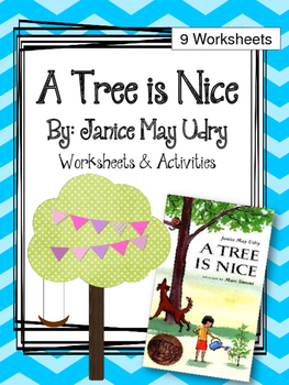 A Tree is Nice. Worksheets and Activies. My Father's World