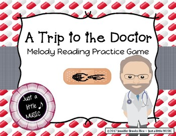 A Trip to the Doctor - Melody Reading Practice Game {sol mi}