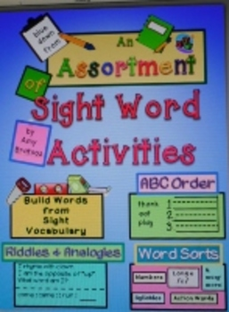 Sight Word Practice- a Unique Variety of Fluency Building