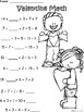 A+ Valentine: Math... Addition and Subtraction Differentia