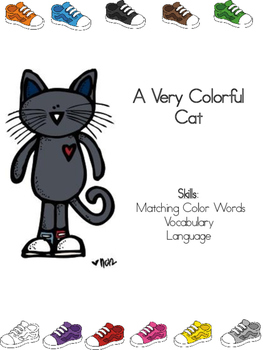 A Very Colorful Cat (English)