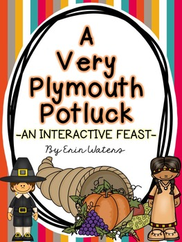 A Very Plymouth Potluck {A FREE Interactive Thanksgiving F