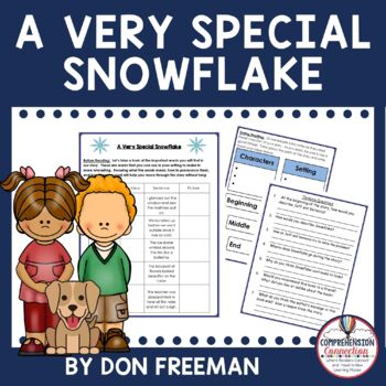 A Very Special Snowflake by Don Hoffman Freebie