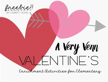 Venn Diagrams: A Valentine's Day FREEBIE!