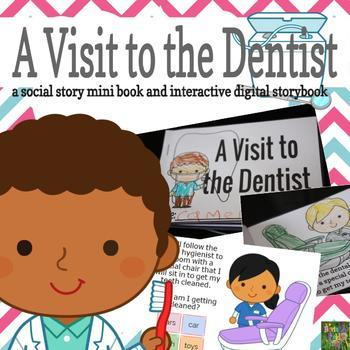 A Visit to the Dentist - Social Story Mini Book