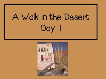 A Walk in the Desert 2nd Grade Reading Street Powerpoints