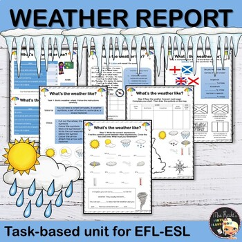 Weather - ESL Task Based Lesson
