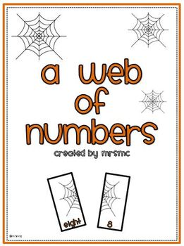 A Web of Numbers-Counting Practice