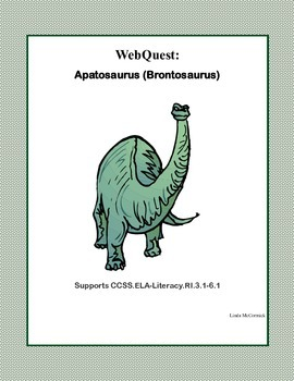 A WebQuest All About Apatosaurus