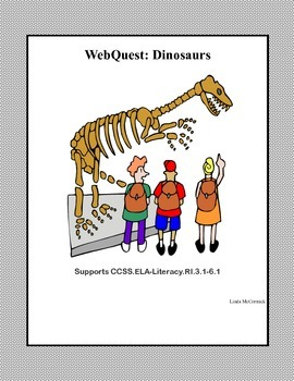 A WebQuest All About Dinosaurs