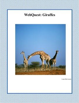 A WebQuest All About Giraffes