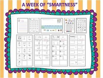 "A Week of ""Smartness"" -A  Week of Smartlessons – Letter Kk"