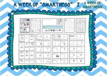 "A Week of ""Smartness"" -A  Week of Smartlessons – Letter Zz"