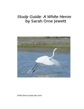"""A White Heron"" by Sarah Orne Jewett, Essential Questions"
