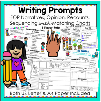 Writing Templates - Narratives, Opinion, Recounts and Sequencing