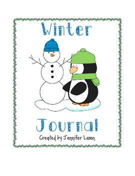 A Winter Journal for the Primary Grades