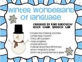 A Winter Wonderland of {Pre-K/K} Language