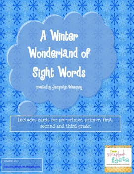 A Winter Wonderland of Sight Words