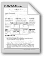 A Word A Day: Teacher Directions, Grade 6+
