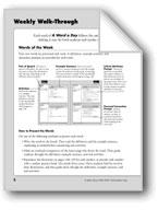 A Word a Day: Teacher Directions, Grade 2