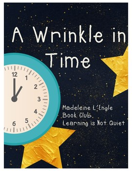 A Wrinkle In Time (Dice Discussion, Teacher Guide, Vocabul