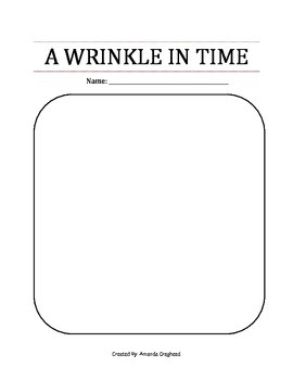 A Wrinkle In Time Unit Plan - Reader Response Prompts