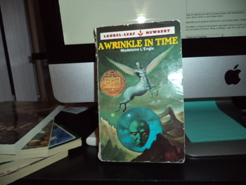 A Wrinkle in Time  ISBN 0-440-99805-0