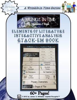 A Wrinkle in Time Interactive Stack-Em Book