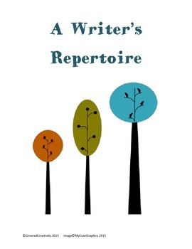 A Writer's Repertoire