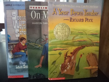 A YEAR DOWN YONDER,,ON MY HONOR.SIDEWAYS (Set of 3)