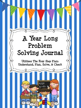 A Year-Long Problem Solving Journal~ Daily Word Problems!