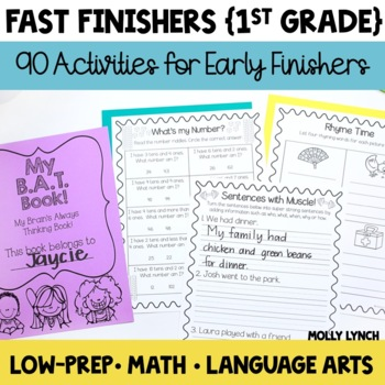 Early Finishers Books for the YEAR!