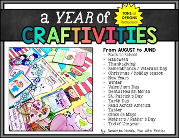 A Year of CRAFTIVITIES: The Bundle! by Sam Nowak