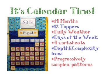A Year of Calendars!